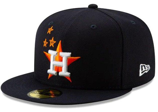 "Travis Scott - Boné Houston Astros 59Fifty Fitted ""Navy"""