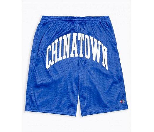 "Chinatown Market x Champion - Bermuda Mesh ""Blue"""