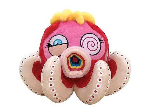 Takashi Murakami x ComplexCon 2018 - Pelúcia Red Octopus Pequena