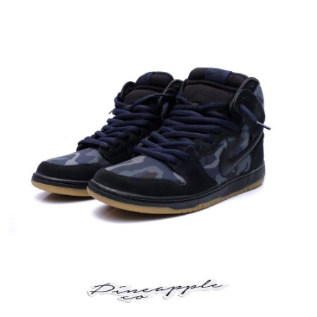 "Nike SB Dunk High ""Camo Obsidian"""