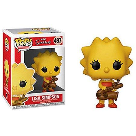 FUNKO POP - Boneco Lisa Simpson #497