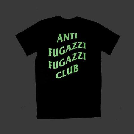 "YEEZY BUSTA - Camiseta Anti Fugazzi Club ""Glow in the Dark PRETA"""