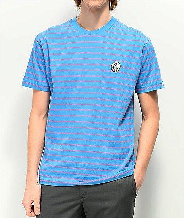 "ODD Future - Camiseta Striped Knit ""Blue/Pink"""