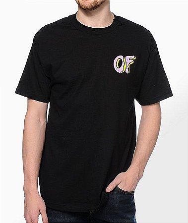 """ODD Future - Camiseta OF Donut """"Black"""""""