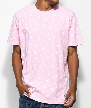 "ODD Future - Camiseta All Over Donut ""Pink"""