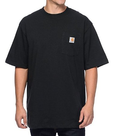 "CARHARTT- Camiseta Pocket ""Black"""