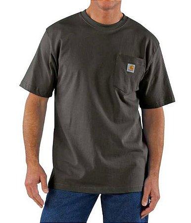 "CARHARTT- Camiseta Pocket ""Peat"""