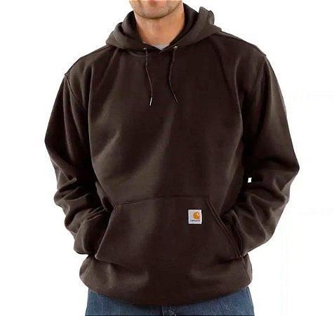 """CARHARTT - Moletom Logo """"Dark Brown"""""""
