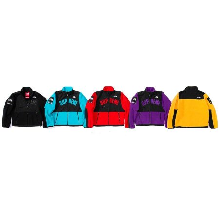 ENCOMENDA - Supreme x The North Face - Jaqueta Arc Logo Denali Fleece