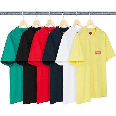 ENCOMENDA - SUPREME - Camiseta Mesh Stripe Pocket