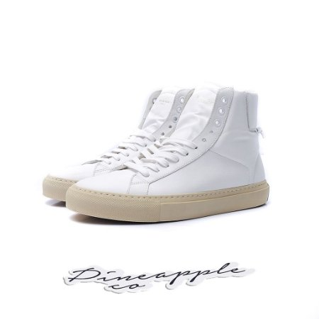 """Givenchy Knots Hi-Top Leather """"White"""""""