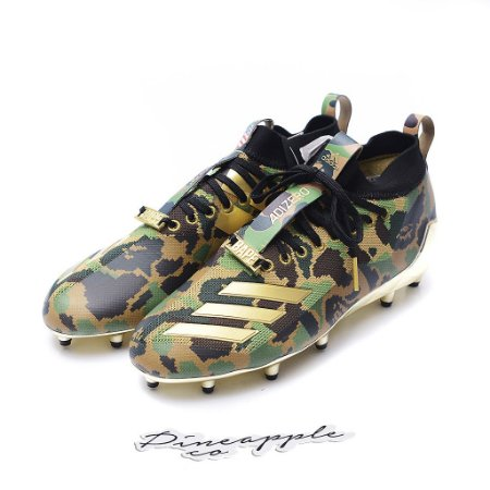 "adidas Cleat x Bape ""Camo Green"""