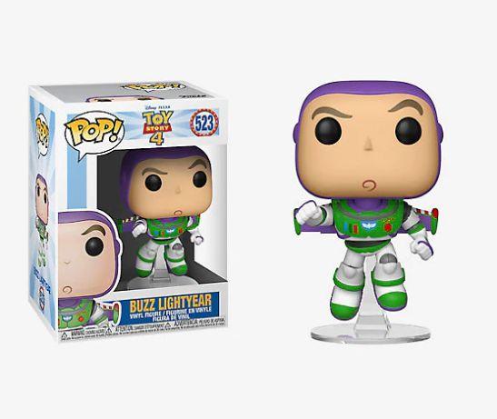 ENCOMENDA - FUNKO POP - Boneco Toy Story 4 Buzz Lightyear #523