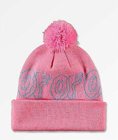 "ODD FUTURE - Touca Logo ""Pink/Turquoise"""