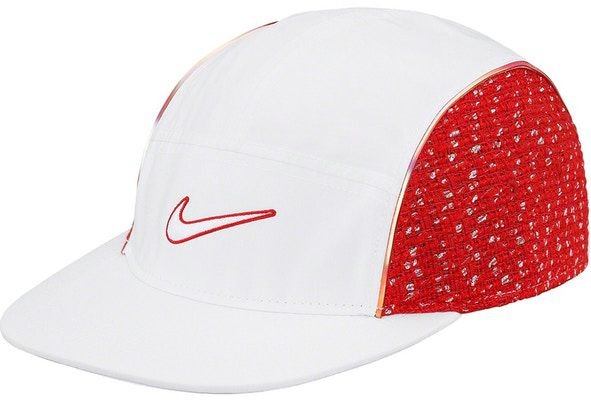 "Supreme x Nike - Boné Air Tailwind IV Bouclé Running ""White/Red"""