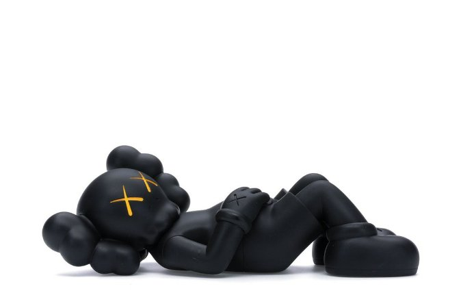 "KAWS - Boneco Holiday Japan Vinyl Figure ""Black"""