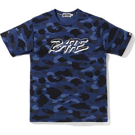 BAPE - Camiseta Color Camo ''Blue''