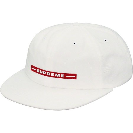 "SUPREME - Boné Raised Logo ""White"""