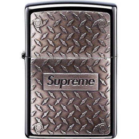 "Supreme x Zippo - Isqueiro Diamond ""Plate"""