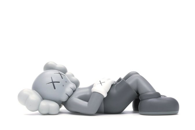 "KAWS - Boneco Holiday Japan Vinyl Figure ""Grey"""