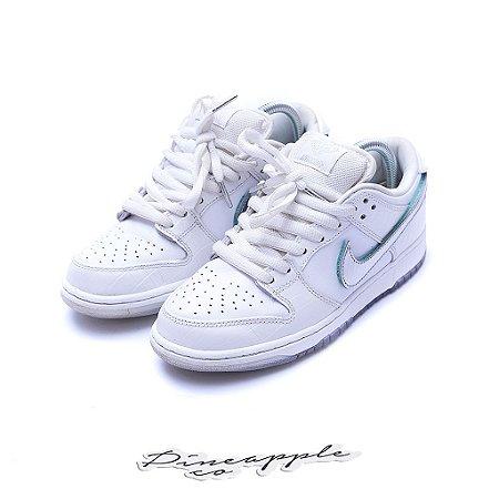 "Nike SB Dunk Low x Diamond Supply Co ""White Diamond"" -USADO-"