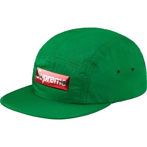 "SUPREME - Boné Metal Logo Camp ""Green"""
