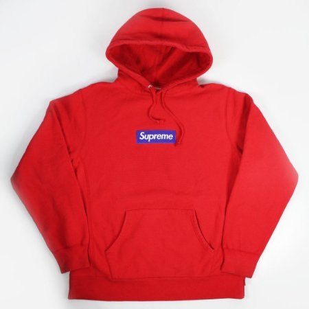 "SUPREME - Moletom Box Logo FW17 ""Red"""