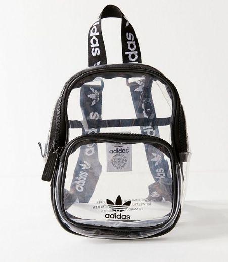 """adidas - Mochila Mini """"Clear"""""""