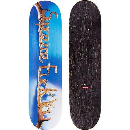 SUPREME - Shape Fuck You Skateboard Deck
