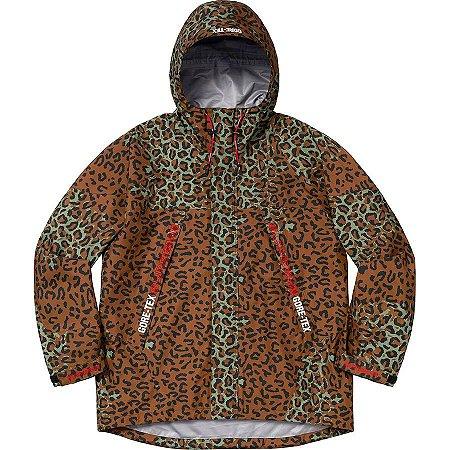 "Supreme x GORE-TEX - Jaqueta Taped Seam ""Leopard"""