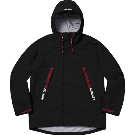 "Supreme x GORE-TEX - Jaqueta Taped Seam ""Black"""