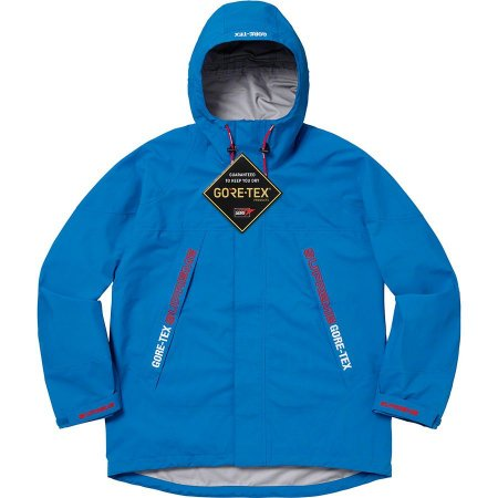 "Supreme x GORE-TEX - Jaqueta Taped Seam ""Royal"""