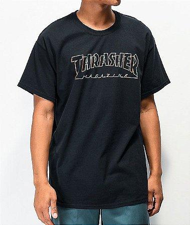 """THRASHER - Camiseta Spectrum """"Black"""""""