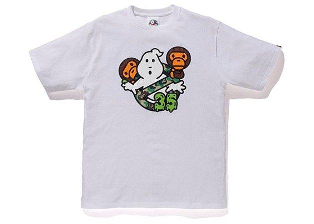"BAPE - Camiseta Baby Milo x Ghostbusters ""White"""