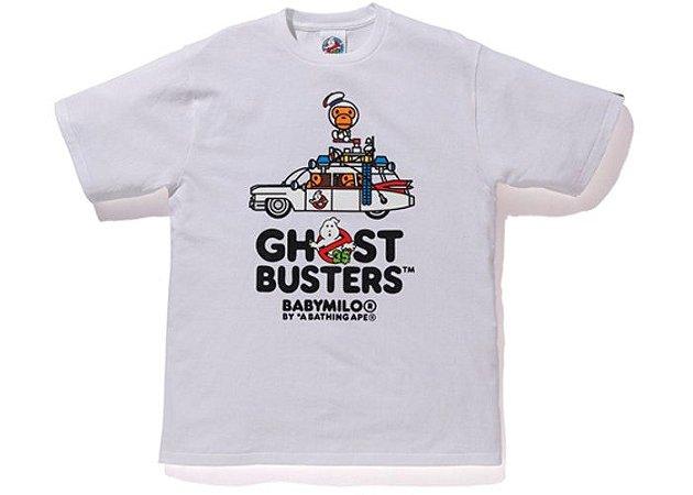 "BAPE - Camiseta Baby Milo x Ghostbusters Car ""White"""