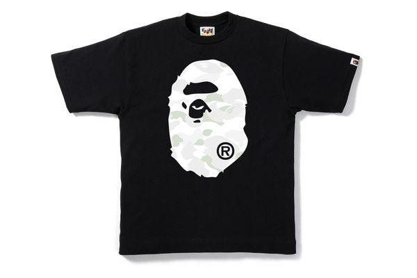 """BAPE - Camiseta City Camo Big Ape Head """"Black"""""""