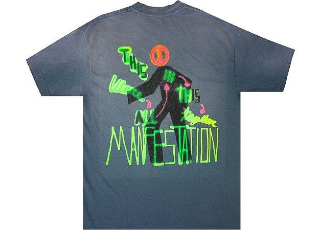 "TRAVIS SCOTT - Camiseta Astroworld Manifestation ""Grey"""