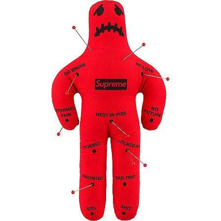 """SUPREME - Boneco Voodoo """"Red"""""""