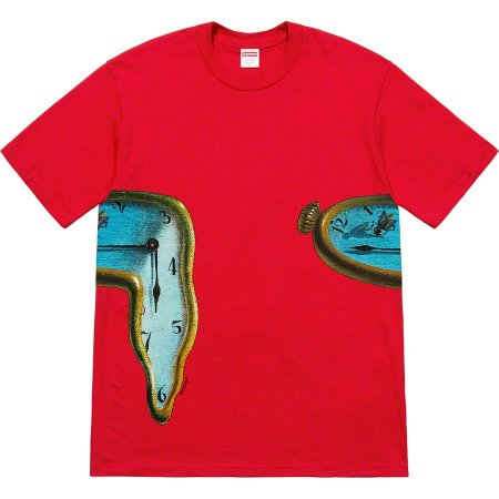 """SUPREME - Camiseta The Persistence of Memory """"Red"""""""