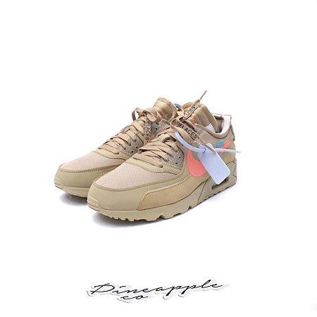 """Nike Air Max 90 x OFF-WHITE """"Desert Ore"""" -NOVO-"""