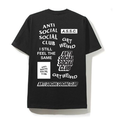 "ANTI SOCIAL SOCIAL CLUB - Camiseta Bukake ""Black"""
