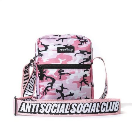 "ANTI SOCIAL SOCIAL CLUB - Bolsa Shoulder Side Camo ""Pink"""