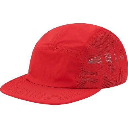 "SUPREME - Boné Sup Mesh Camp ""Red"""