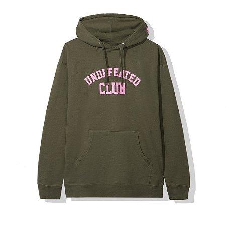 """Anti Social Social Club x Undefeated - Moletom Club """"Army"""""""
