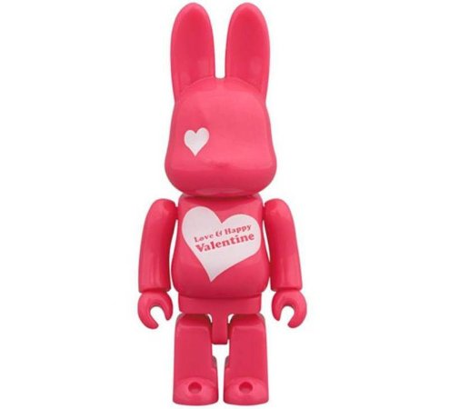 MEDICOM TOY - Rabbrick 100% Valentine's Day 2016