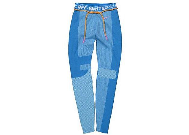 "OFF-WHITE x Nike - Calça Women's Easy Run ""Photo Blue"""