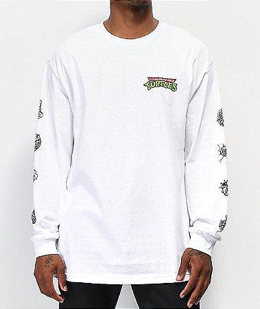 """Santa Cruz x TMNT - Camiseta Mutagen """"White"""""""