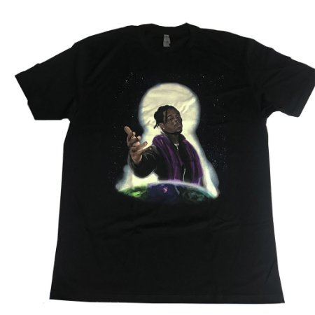 """LIL UZI VERT - Camiseta """"Black"""""""