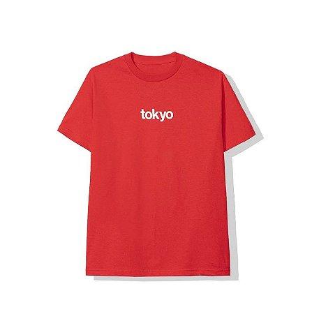 "ANTI SOCIAL SOCIAL CLUB - Camiseta Tokyo ""Red"""