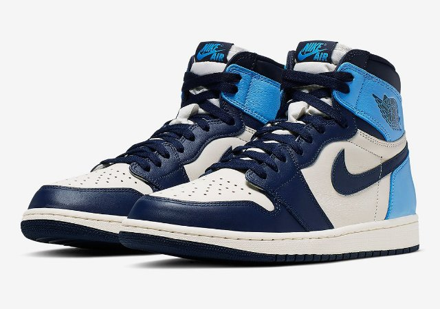 "Nike Air Jordan 1 Retro ""Obsidian UNC"" (Caixa Replacement)"